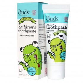 Children's Toothpaste with Fluoride - Green Apple