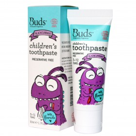 Children's Toothpaste with Fluoride - Blackcurrant