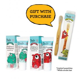 Children's Toothpaste Xylitol Combo Pack 1 - FREE Toothbrush